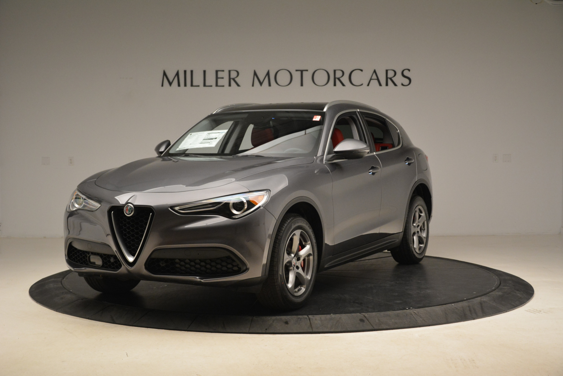 New 2018 Alfa Romeo Stelvio Q4 For Sale In Westport, CT 1637_main