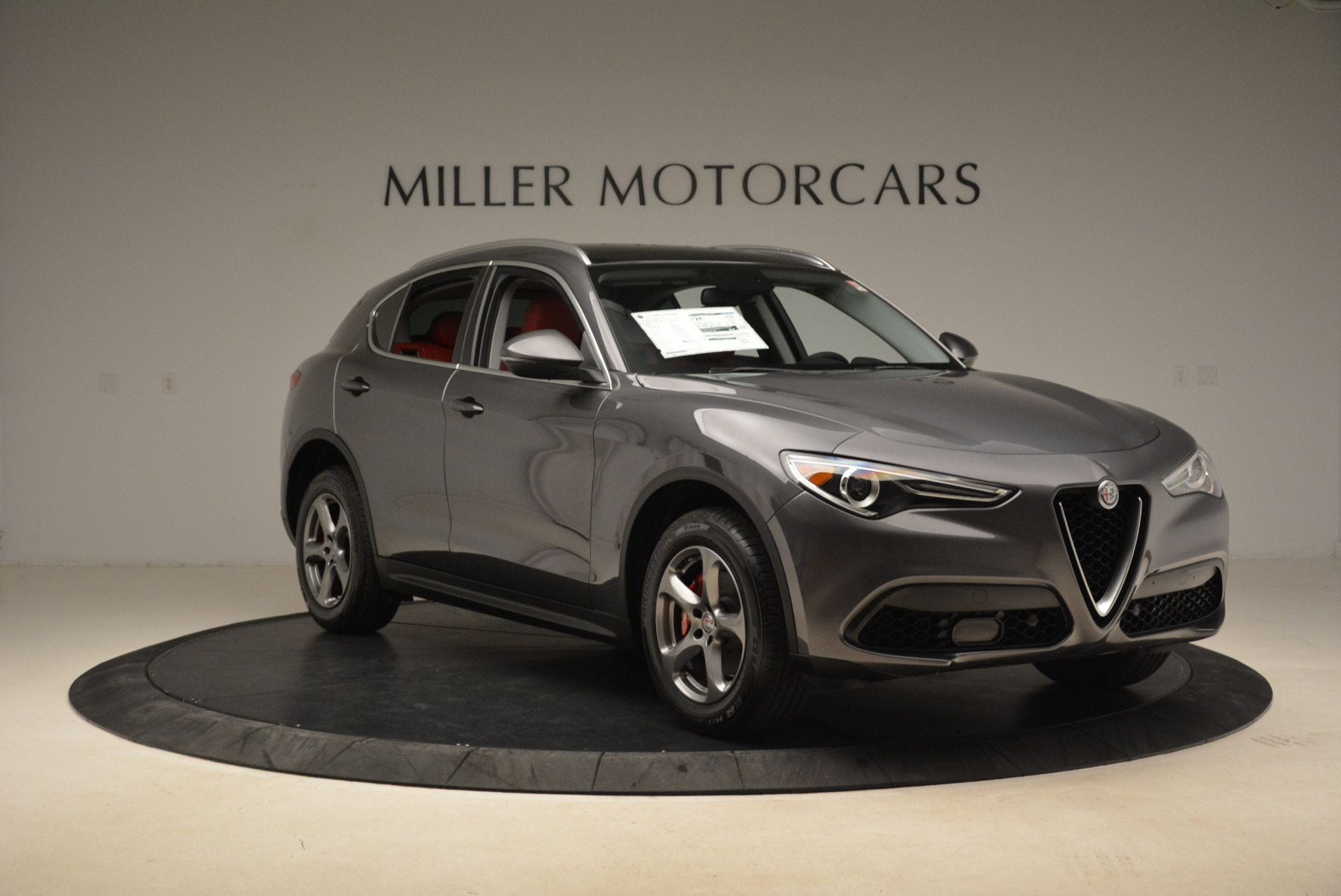 New 2018 Alfa Romeo Stelvio Q4 For Sale In Westport, CT 1637_p11