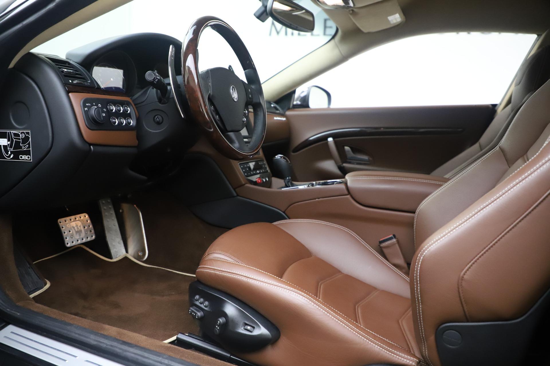 New 2016 Maserati GranTurismo Sport For Sale In Westport, CT 164_p14