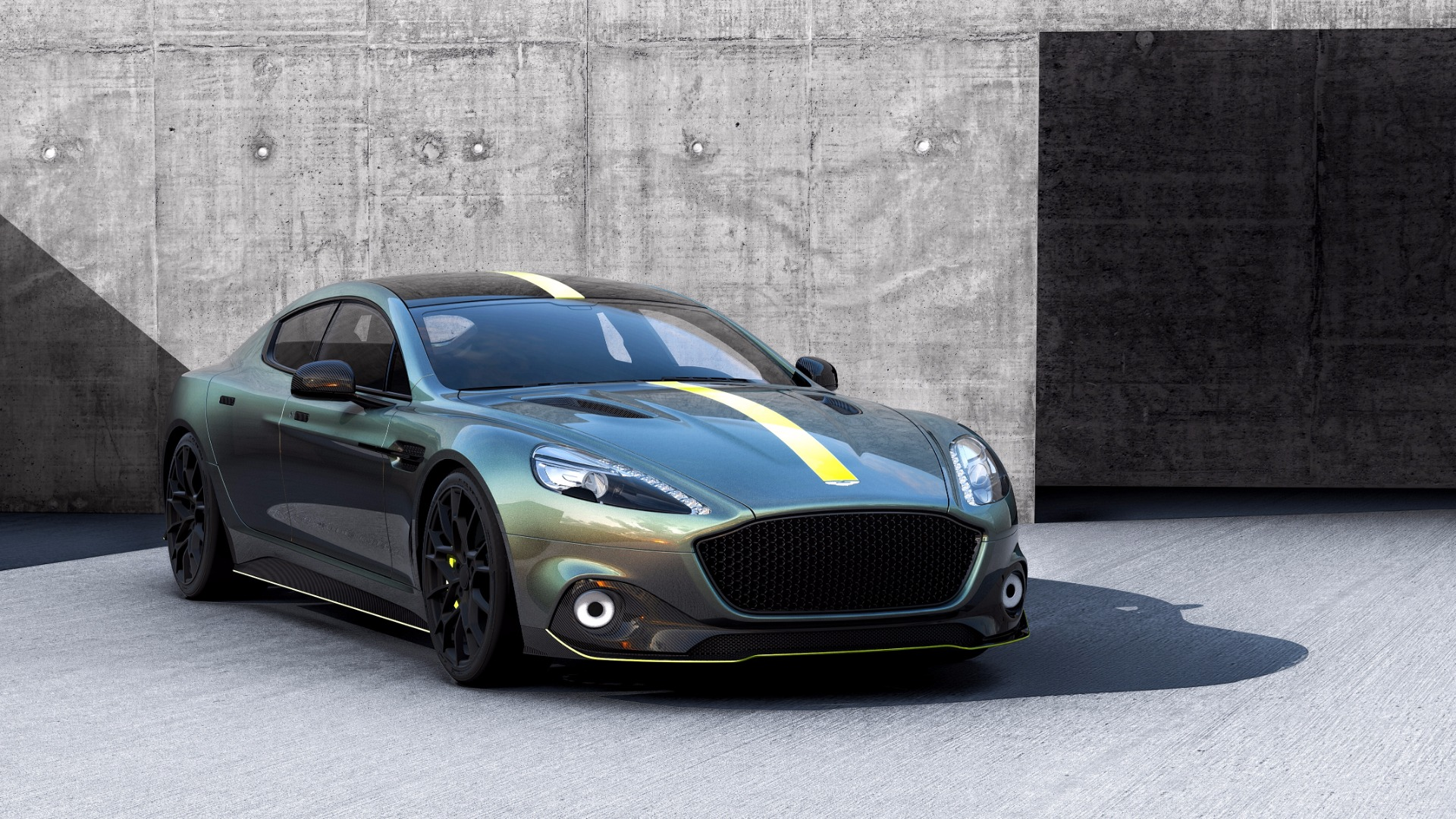 New 2019 Aston Martin Rapide AMR Shadow Edition For Sale In Westport, CT 1647_p2