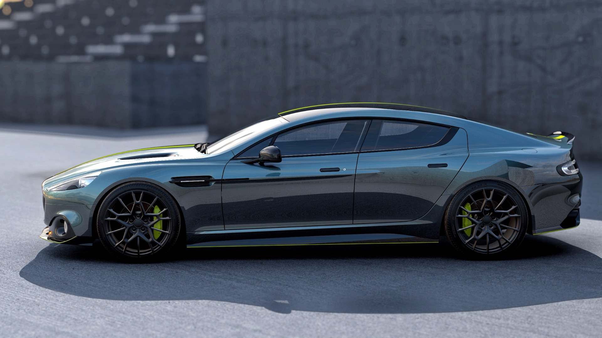 New 2019 Aston Martin Rapide AMR Shadow Edition For Sale In Westport, CT 1647_p3
