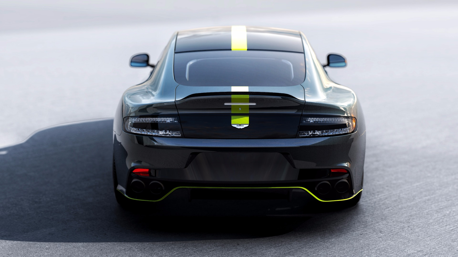 New 2019 Aston Martin Rapide AMR Shadow Edition For Sale In Westport, CT 1647_p4