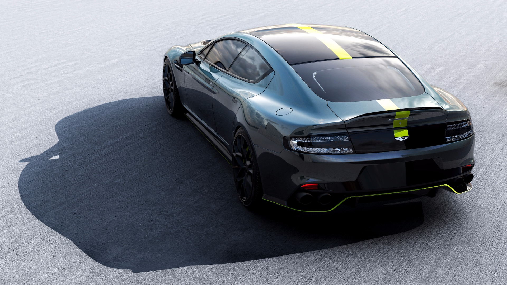New 2019 Aston Martin Rapide AMR Shadow Edition For Sale In Westport, CT 1647_p7