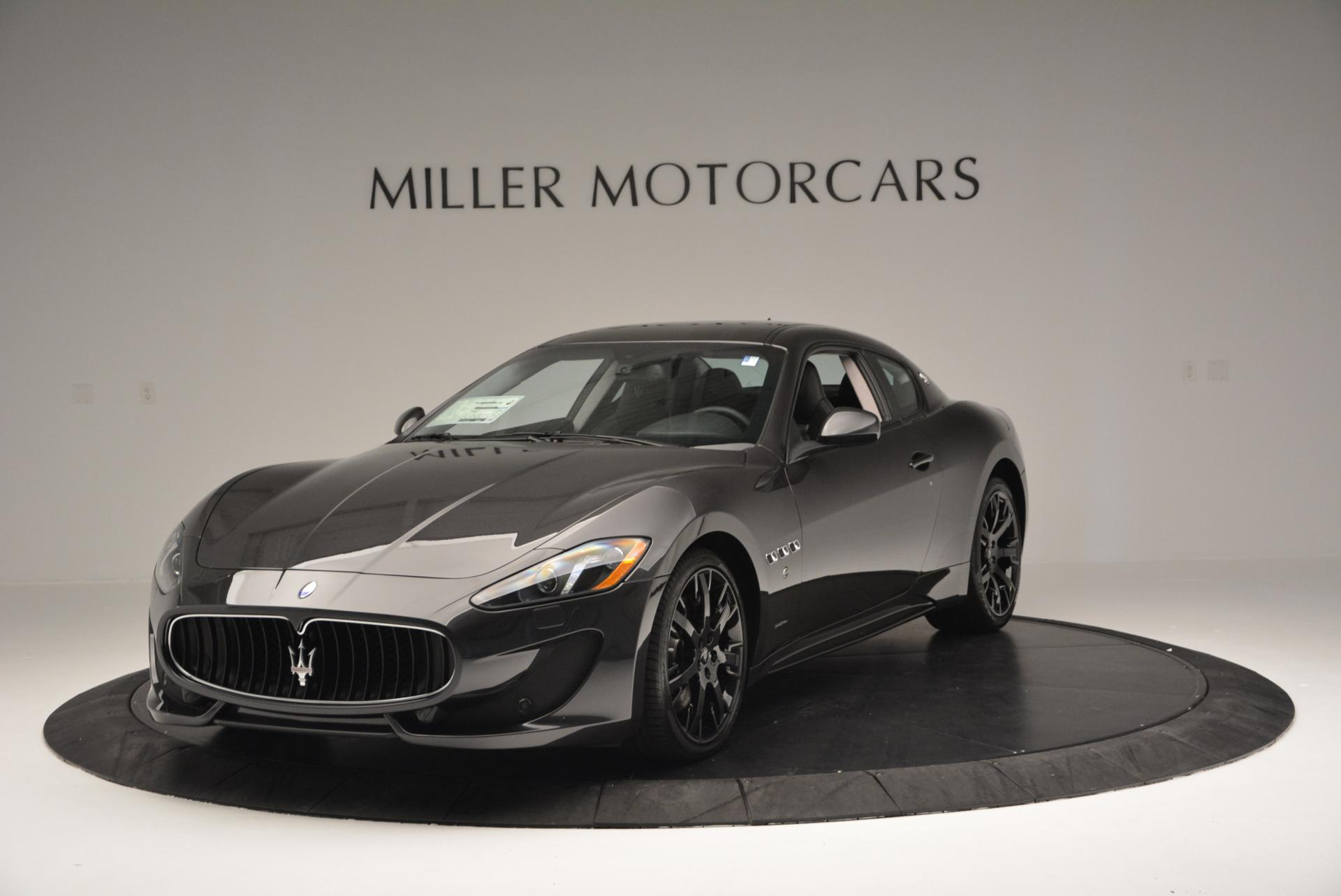 New 2016 Maserati GranTurismo Sport For Sale In Westport, CT 165_main