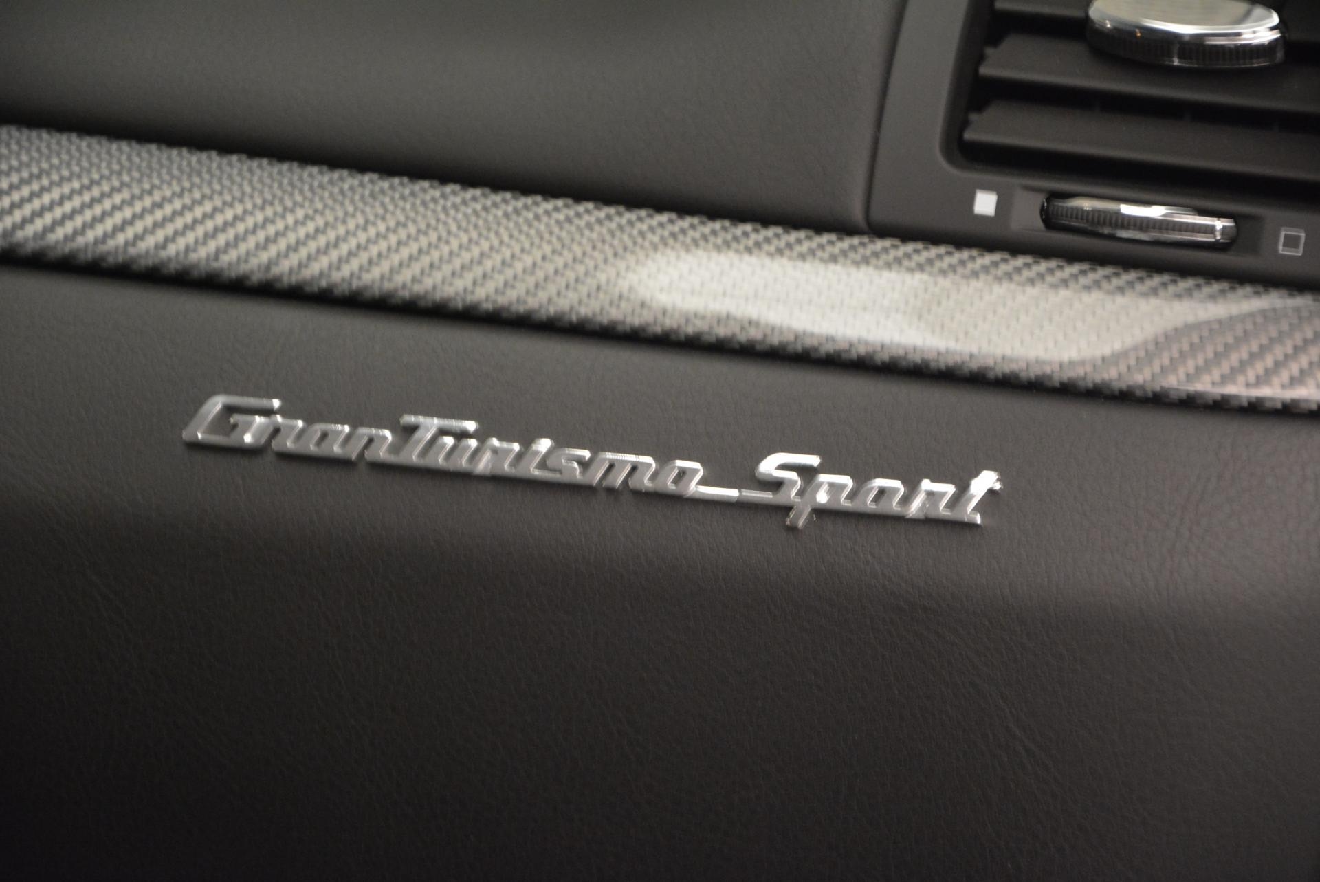 New 2016 Maserati GranTurismo Sport For Sale In Westport, CT 165_p21