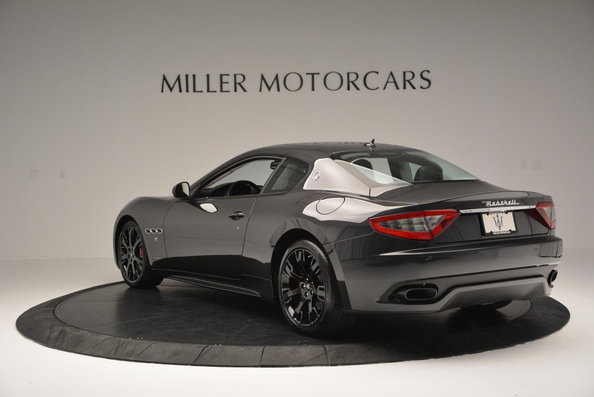 New 2016 Maserati GranTurismo Sport For Sale In Westport, CT 165_p5