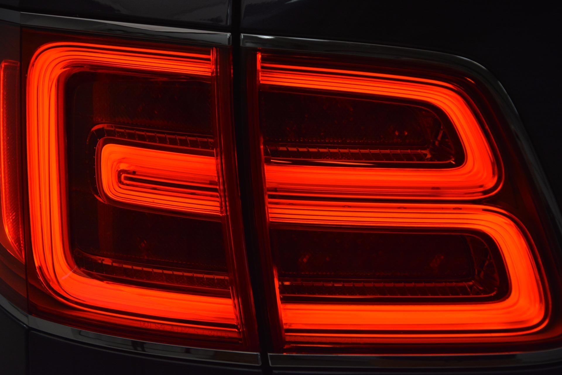 Used 2018 Bentley Bentayga Onyx For Sale In Westport, CT 1651_p31