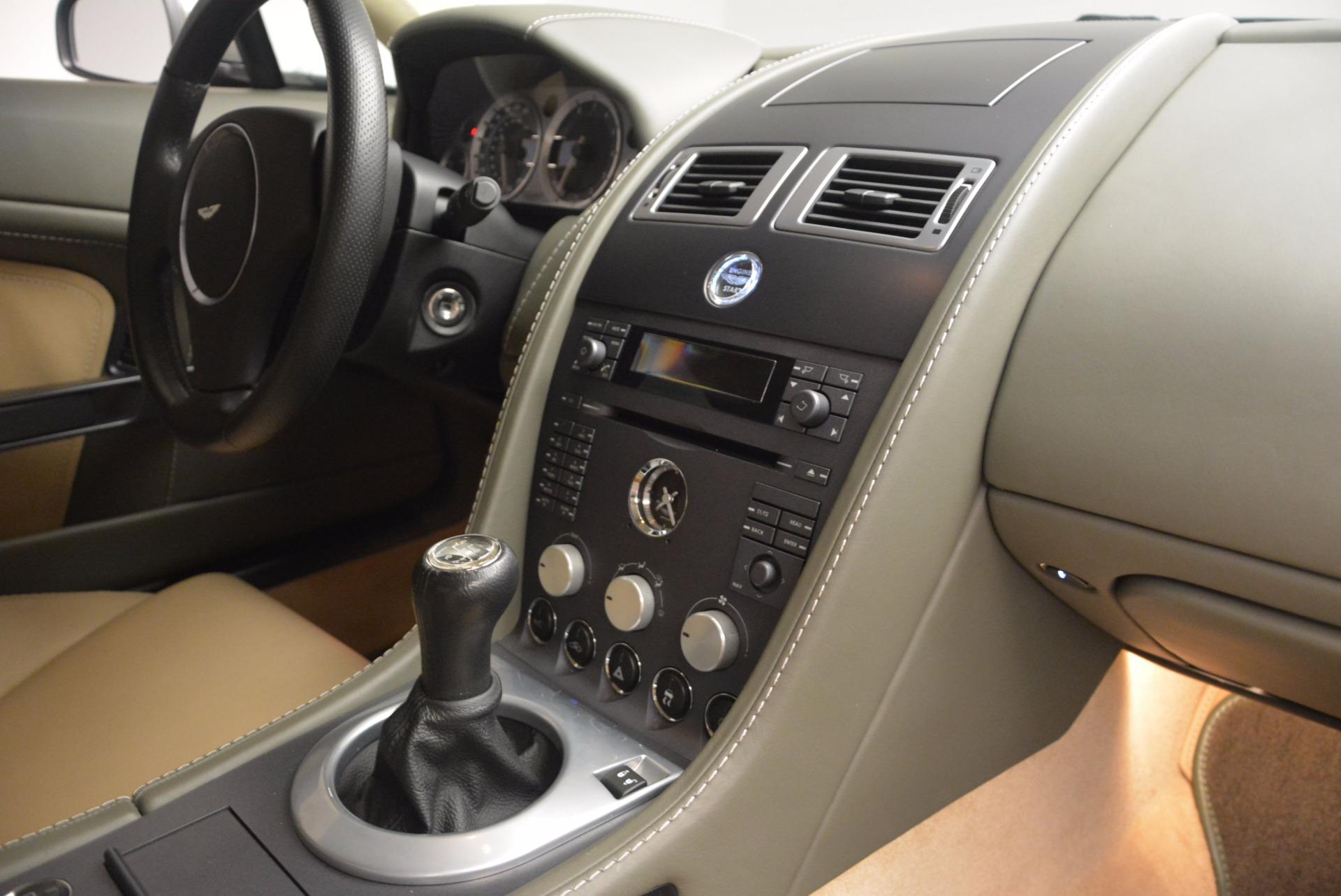 Used 2006 Aston Martin V8 Vantage  For Sale In Westport, CT 1658_p16