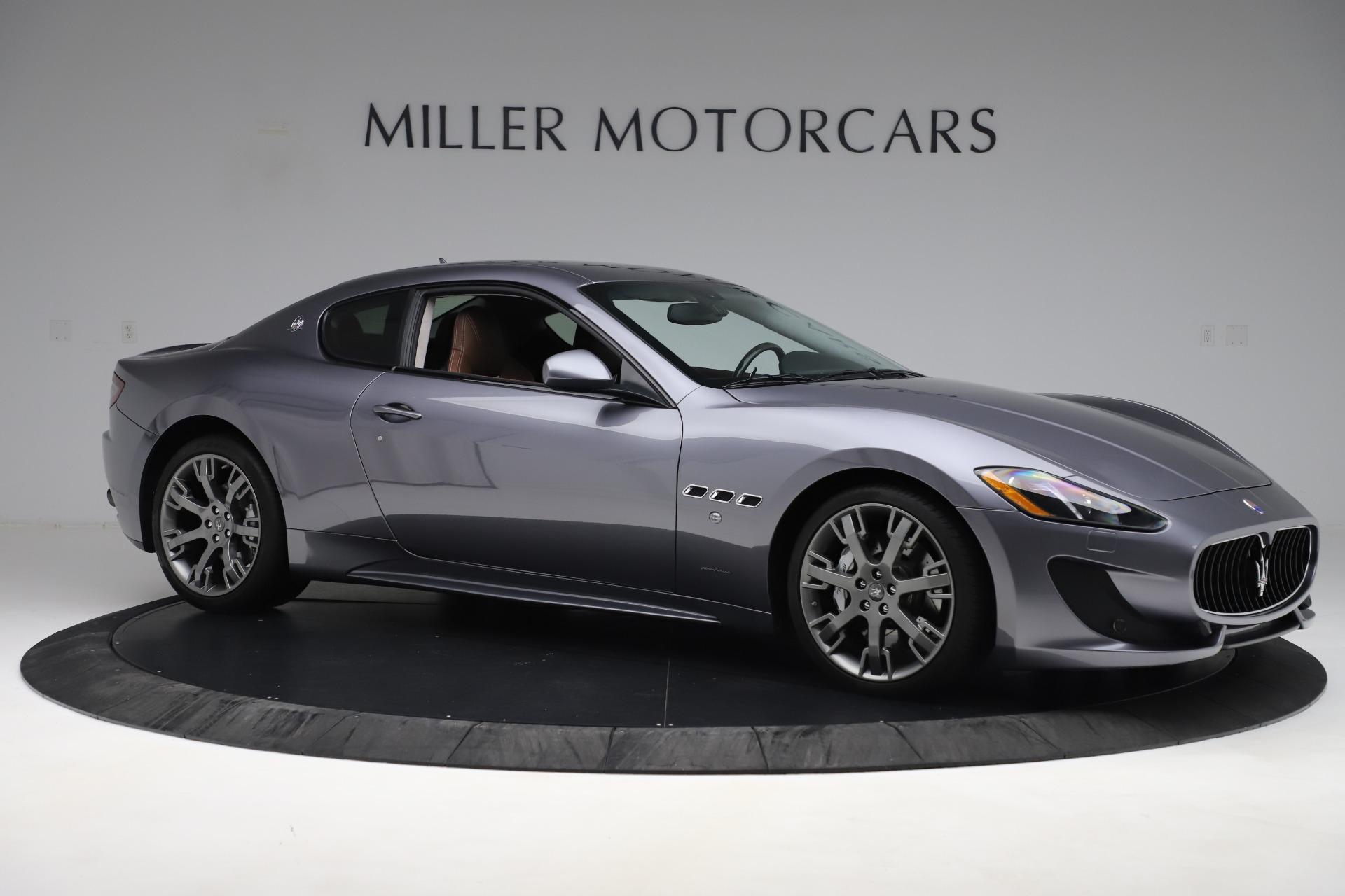 Used 2016 Maserati GranTurismo Sport For Sale In Westport, CT 166_p10