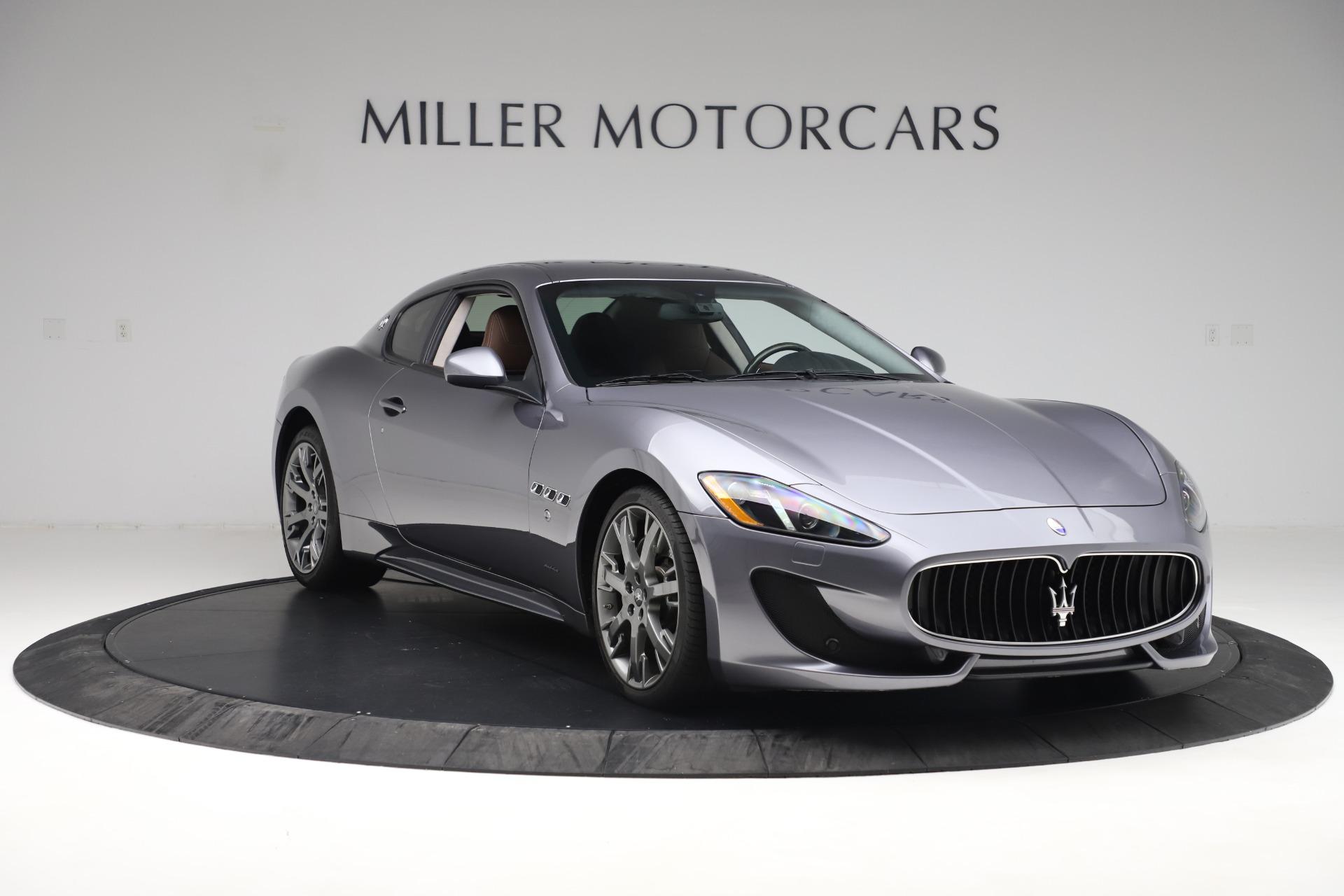 Used 2016 Maserati GranTurismo Sport For Sale In Westport, CT 166_p11