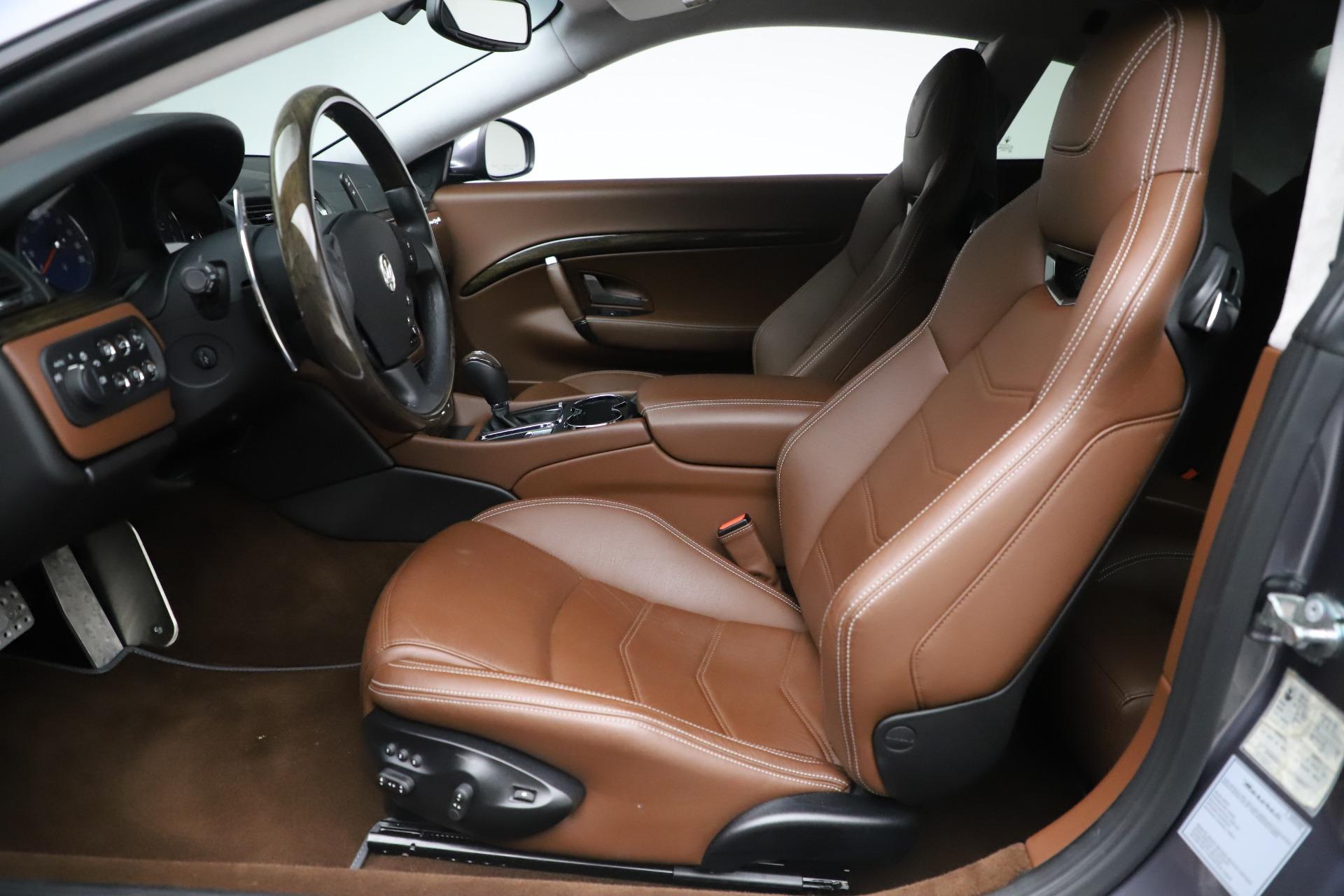 Used 2016 Maserati GranTurismo Sport For Sale In Westport, CT 166_p14
