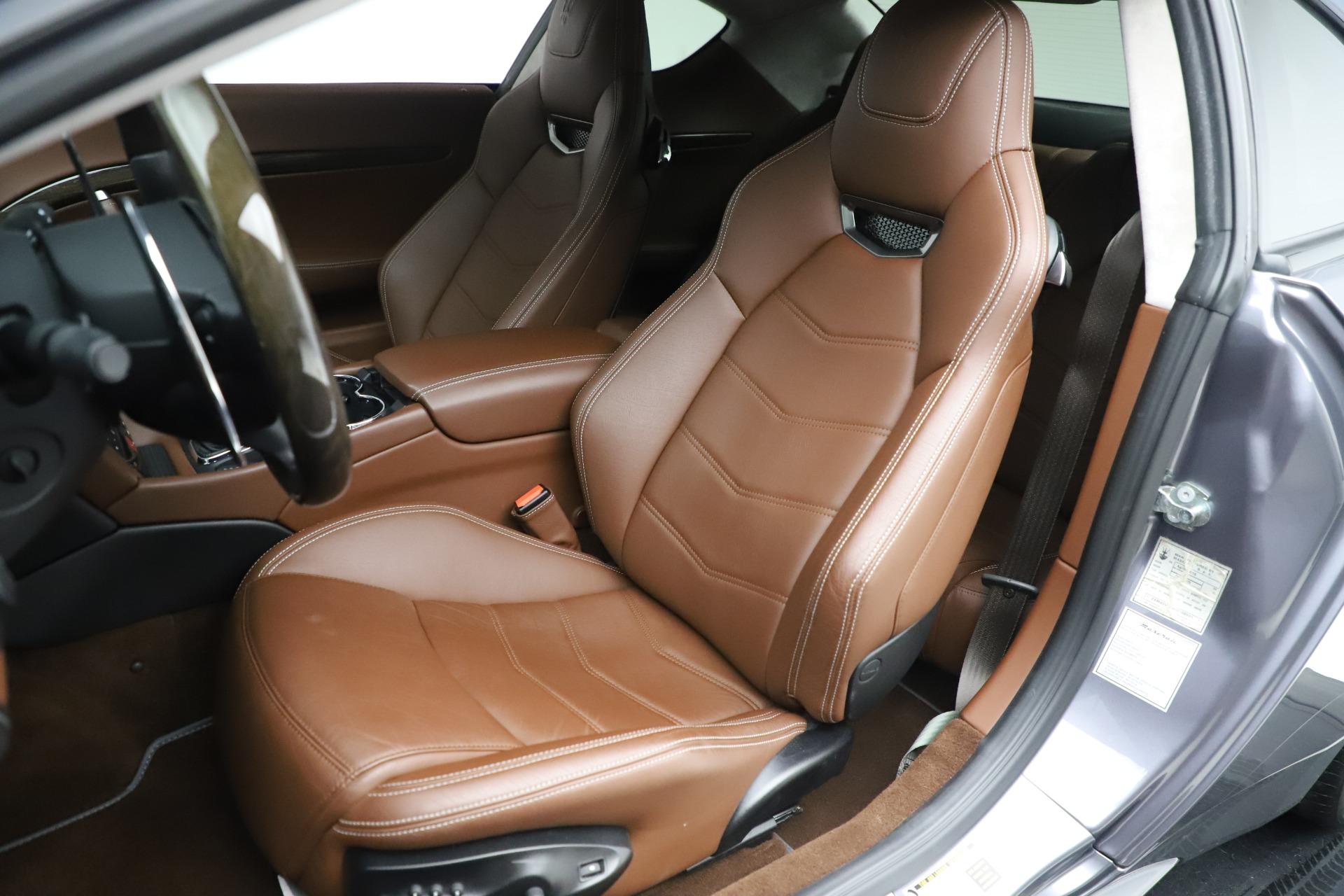 Used 2016 Maserati GranTurismo Sport For Sale In Westport, CT 166_p15