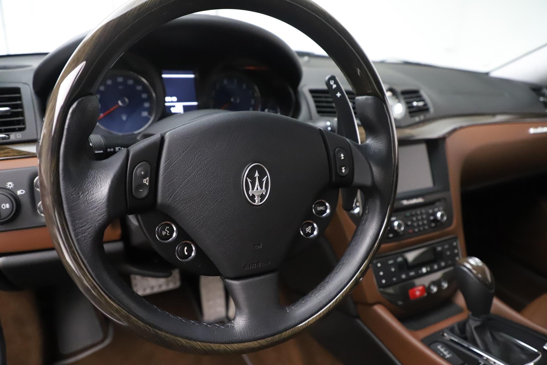 Used 2016 Maserati GranTurismo Sport For Sale In Westport, CT 166_p16