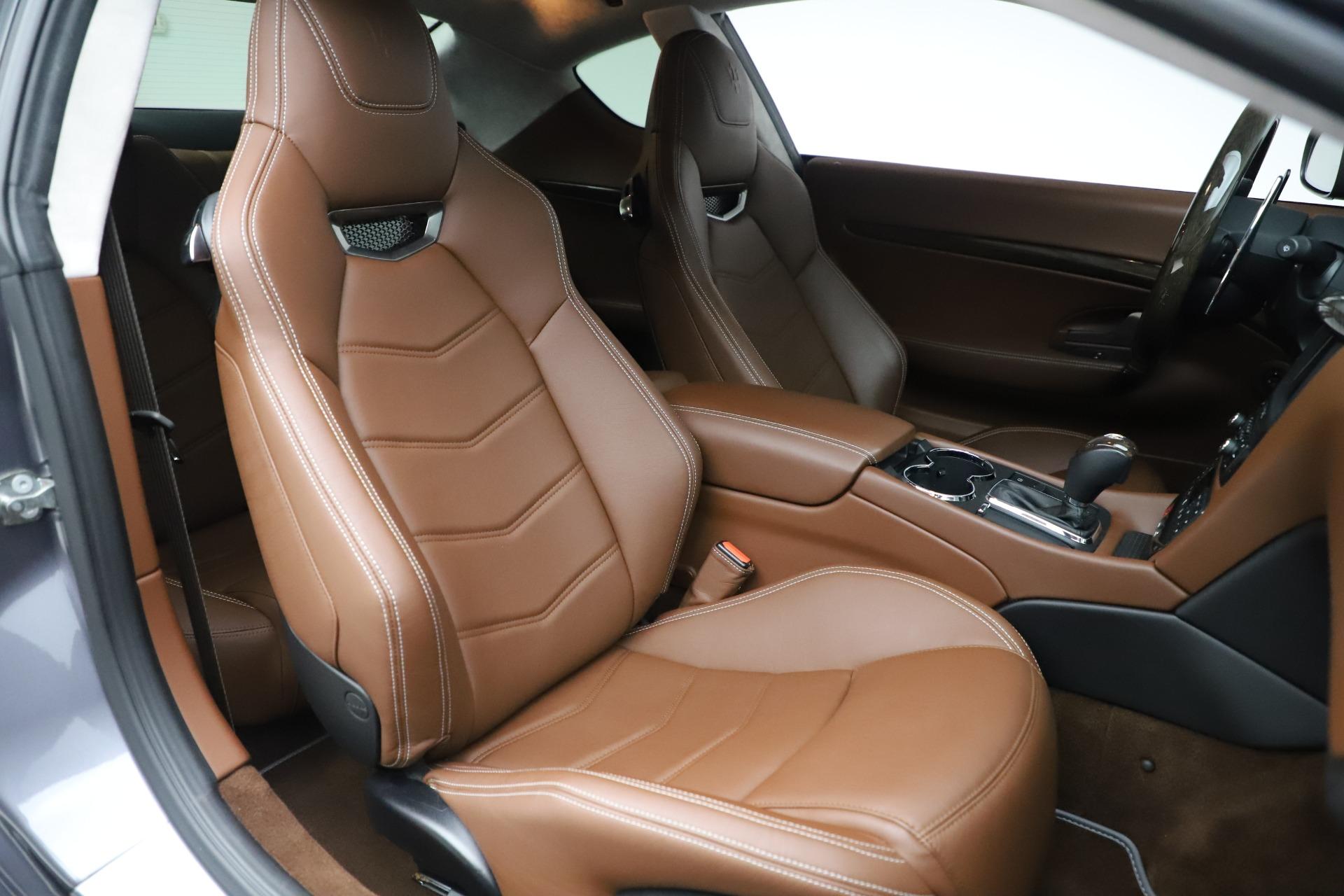 Used 2016 Maserati GranTurismo Sport For Sale In Westport, CT 166_p20
