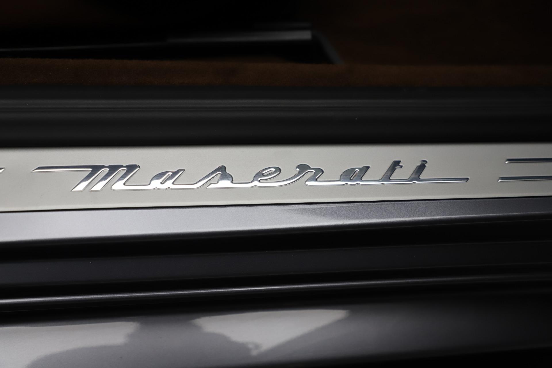Used 2016 Maserati GranTurismo Sport For Sale In Westport, CT 166_p22