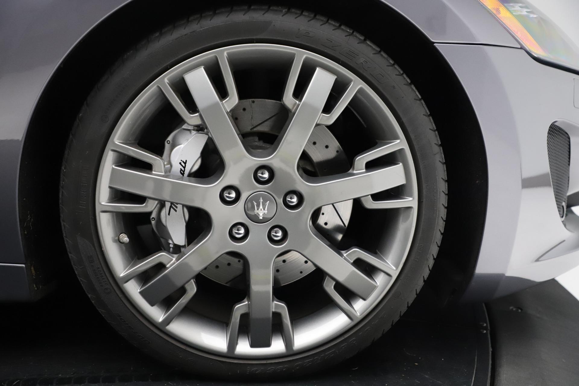 Used 2016 Maserati GranTurismo Sport For Sale In Westport, CT 166_p23