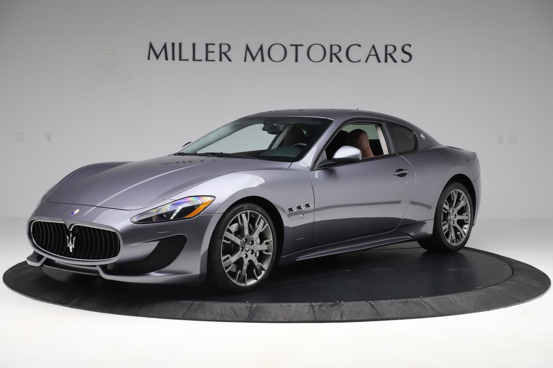 Used 2016 Maserati GranTurismo Sport For Sale In Westport, CT 166_p2