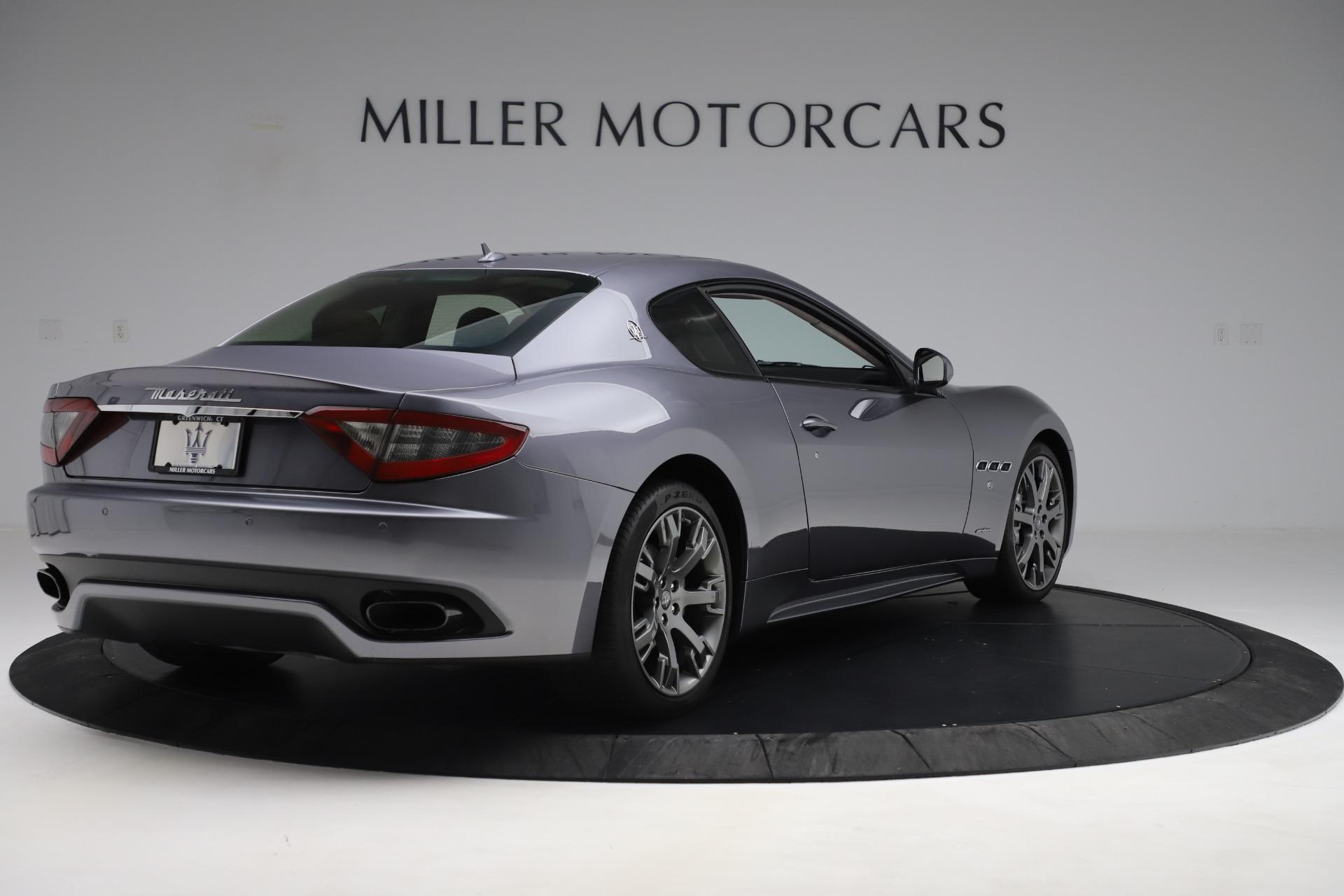 Used 2016 Maserati GranTurismo Sport For Sale In Westport, CT 166_p7