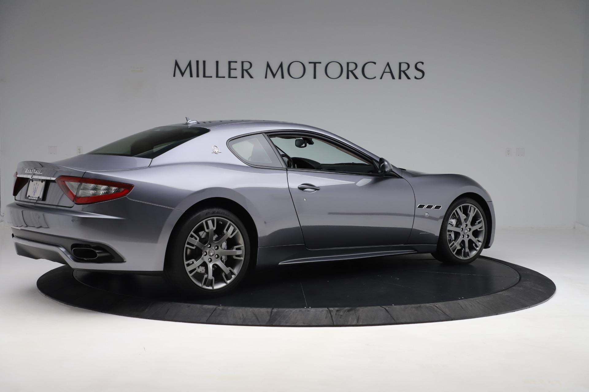 Used 2016 Maserati GranTurismo Sport For Sale In Westport, CT 166_p8