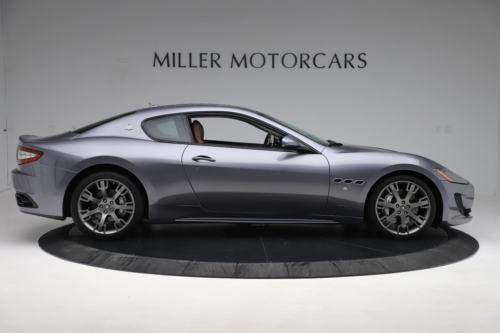 Used 2016 Maserati GranTurismo Sport For Sale In Westport, CT 166_p9