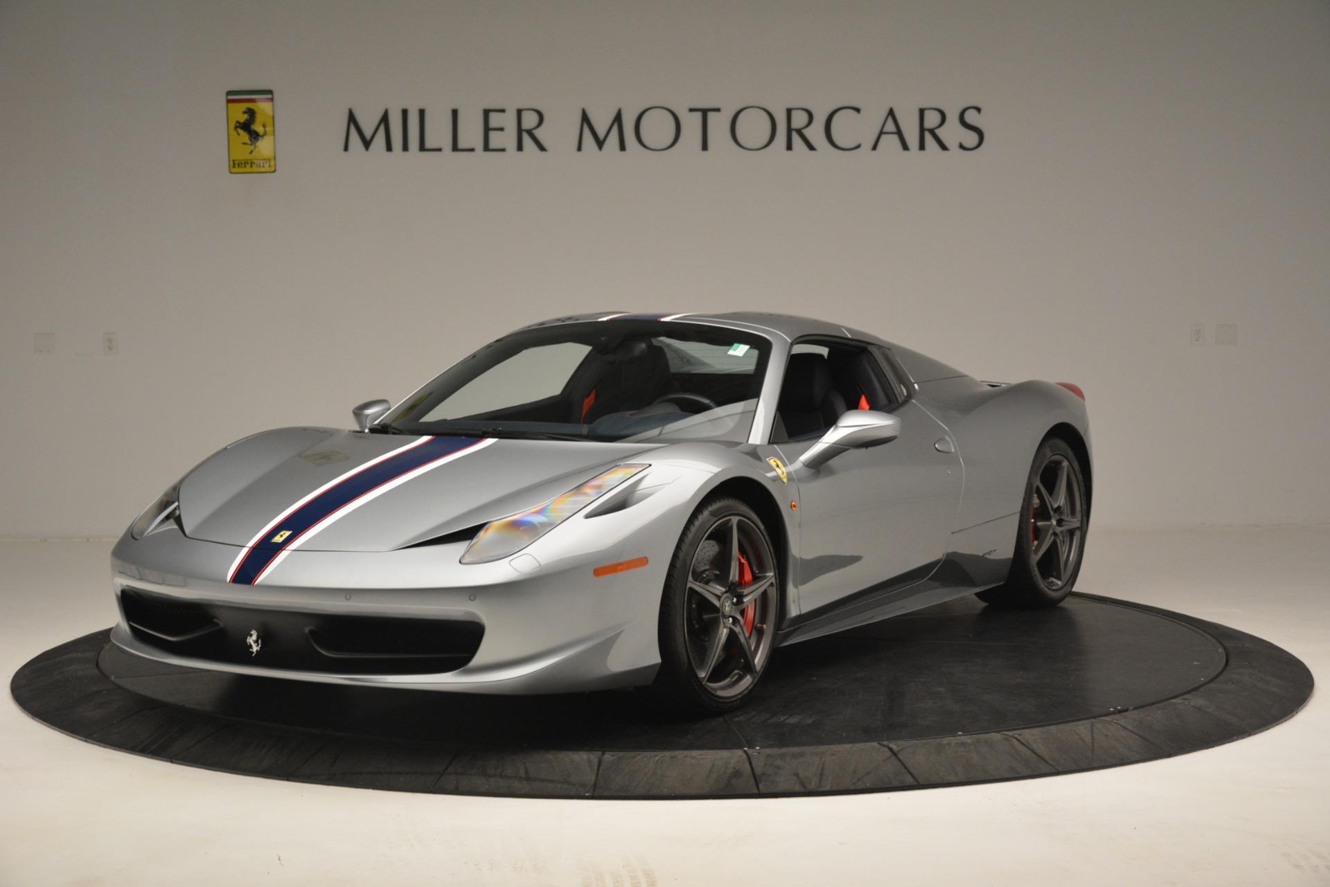 Used 2015 Ferrari 458 Spider  For Sale In Westport, CT 1667_p13