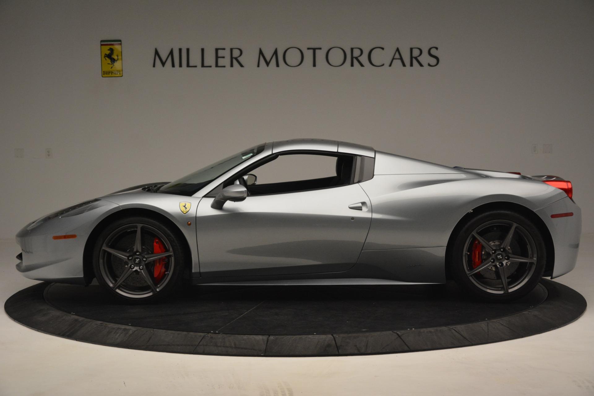 Used 2015 Ferrari 458 Spider  For Sale In Westport, CT 1667_p14