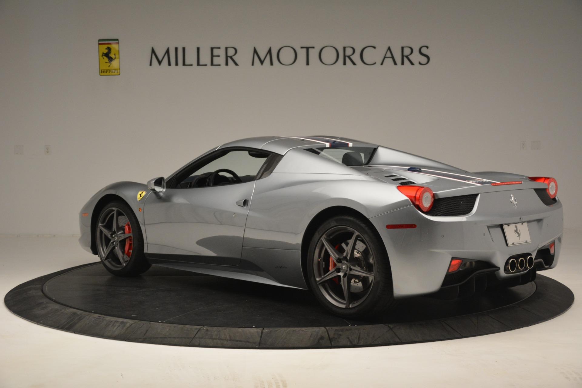 Used 2015 Ferrari 458 Spider  For Sale In Westport, CT 1667_p15