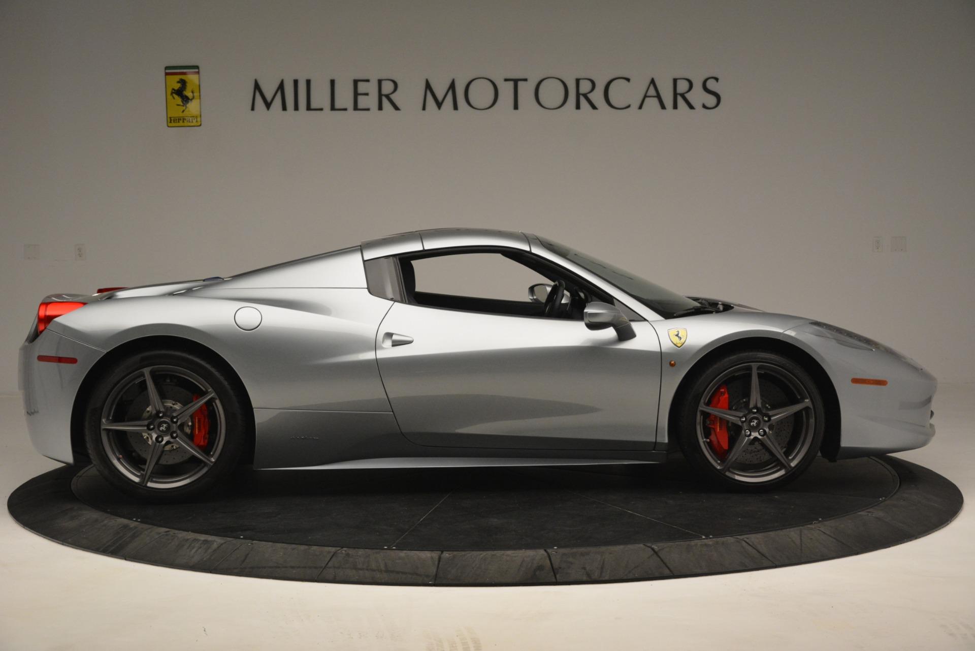 Used 2015 Ferrari 458 Spider  For Sale In Westport, CT 1667_p17