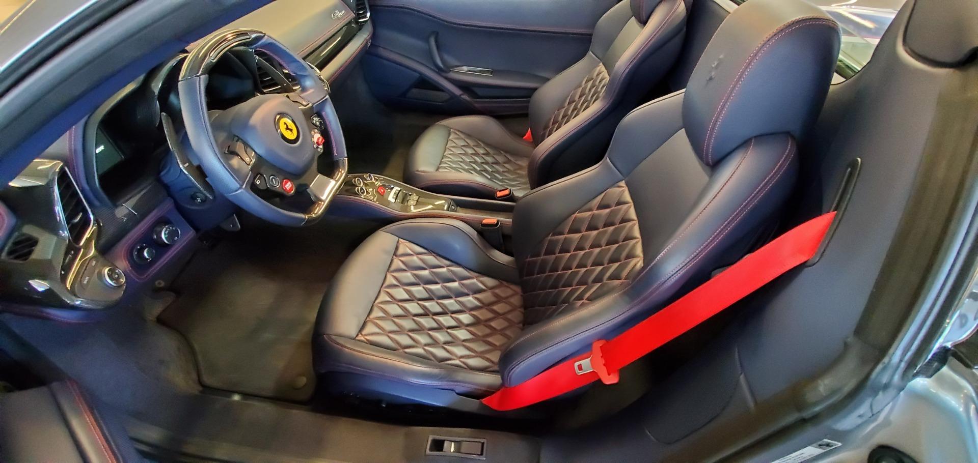 Used 2015 Ferrari 458 Spider  For Sale In Westport, CT 1667_p20