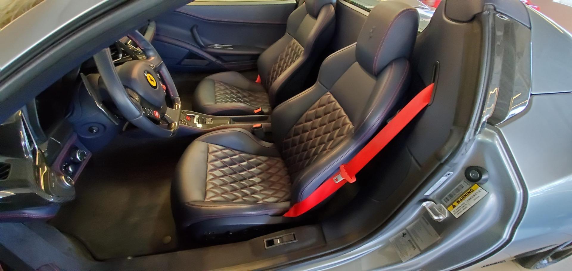 Used 2015 Ferrari 458 Spider  For Sale In Westport, CT 1667_p21