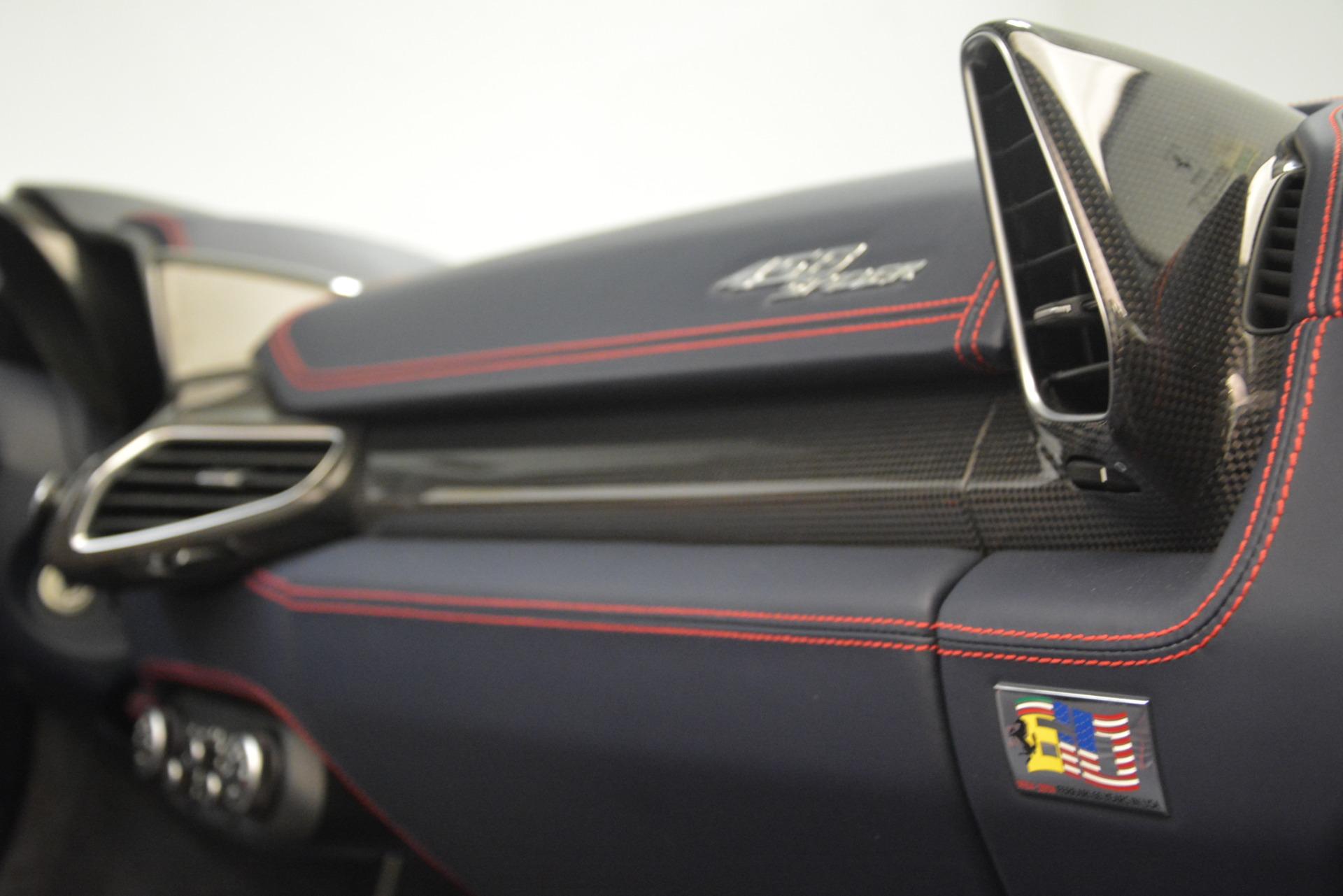 Used 2015 Ferrari 458 Spider  For Sale In Westport, CT 1667_p28