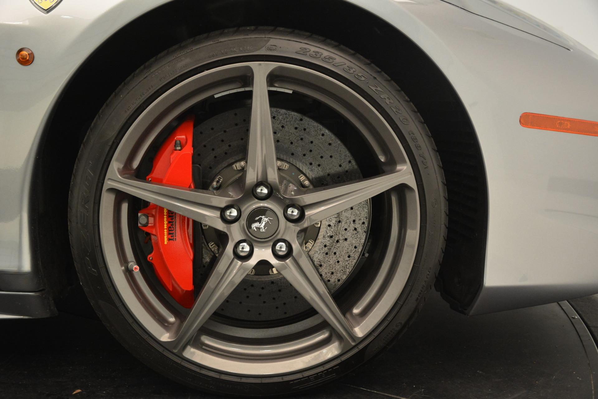 Used 2015 Ferrari 458 Spider  For Sale In Westport, CT 1667_p29