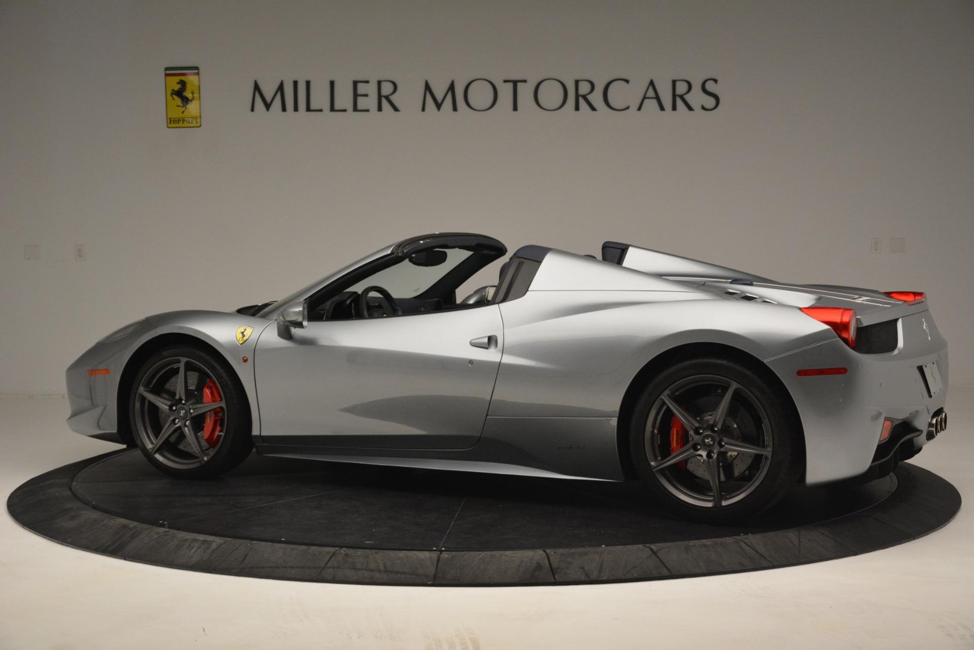 Used 2015 Ferrari 458 Spider  For Sale In Westport, CT 1667_p4