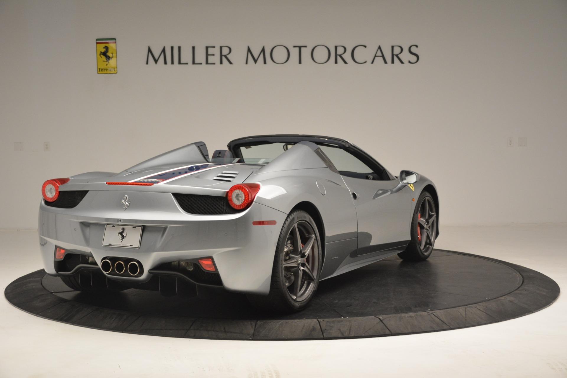 Used 2015 Ferrari 458 Spider  For Sale In Westport, CT 1667_p7