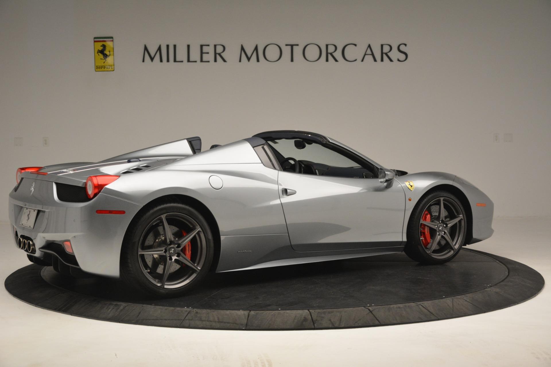 Used 2015 Ferrari 458 Spider  For Sale In Westport, CT 1667_p8