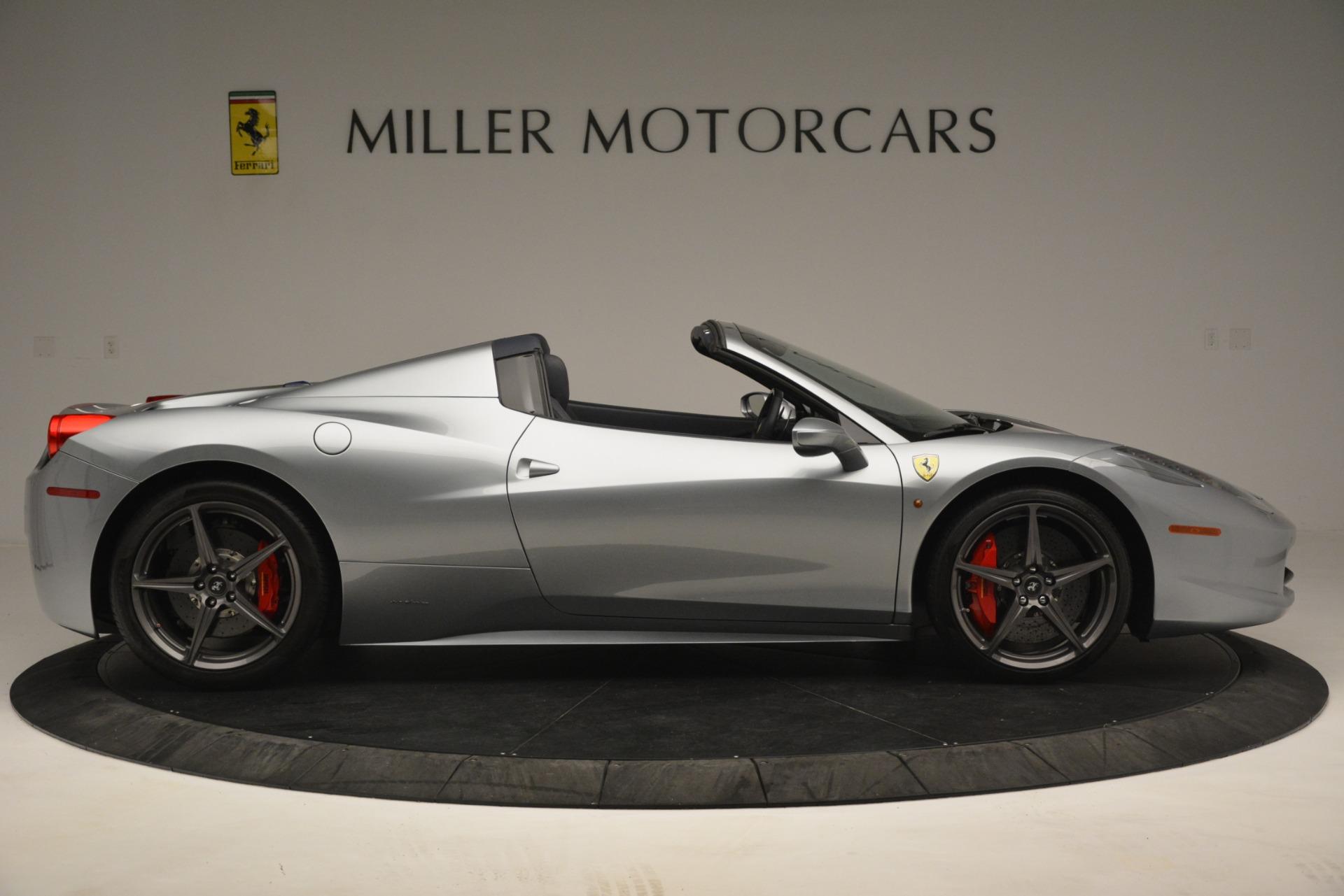 Used 2015 Ferrari 458 Spider  For Sale In Westport, CT 1667_p9
