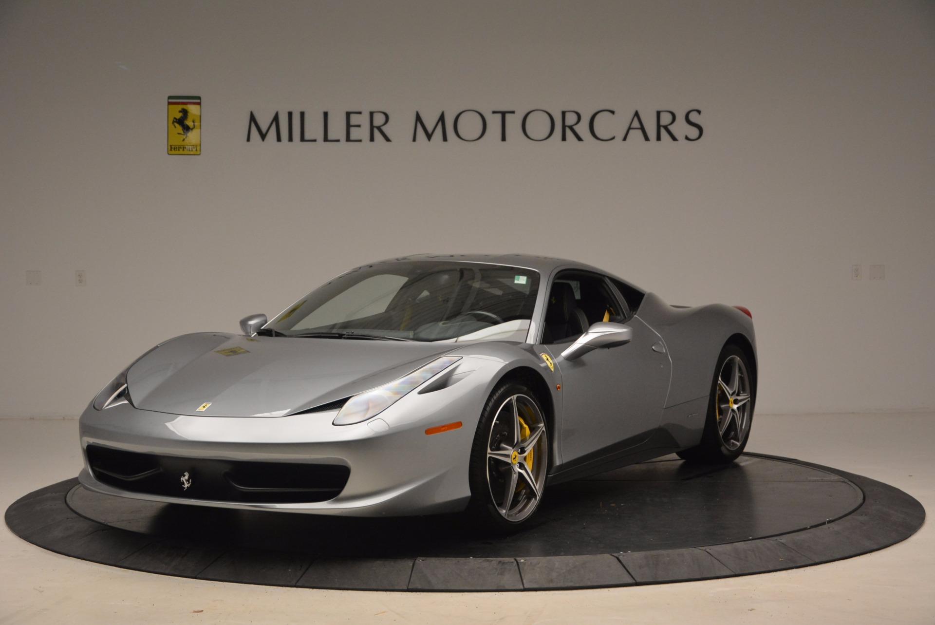 Used 2014 Ferrari 458 Italia  For Sale In Westport, CT 1669_main