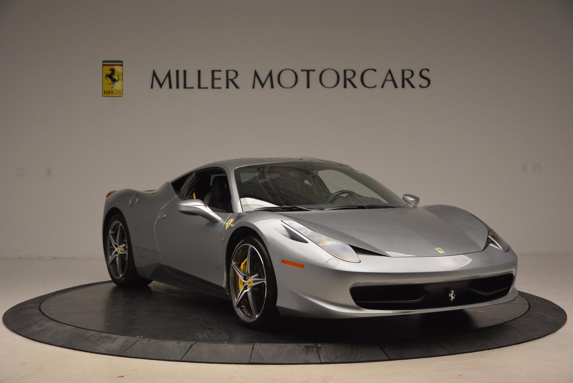 Used 2014 Ferrari 458 Italia  For Sale In Westport, CT 1669_p11