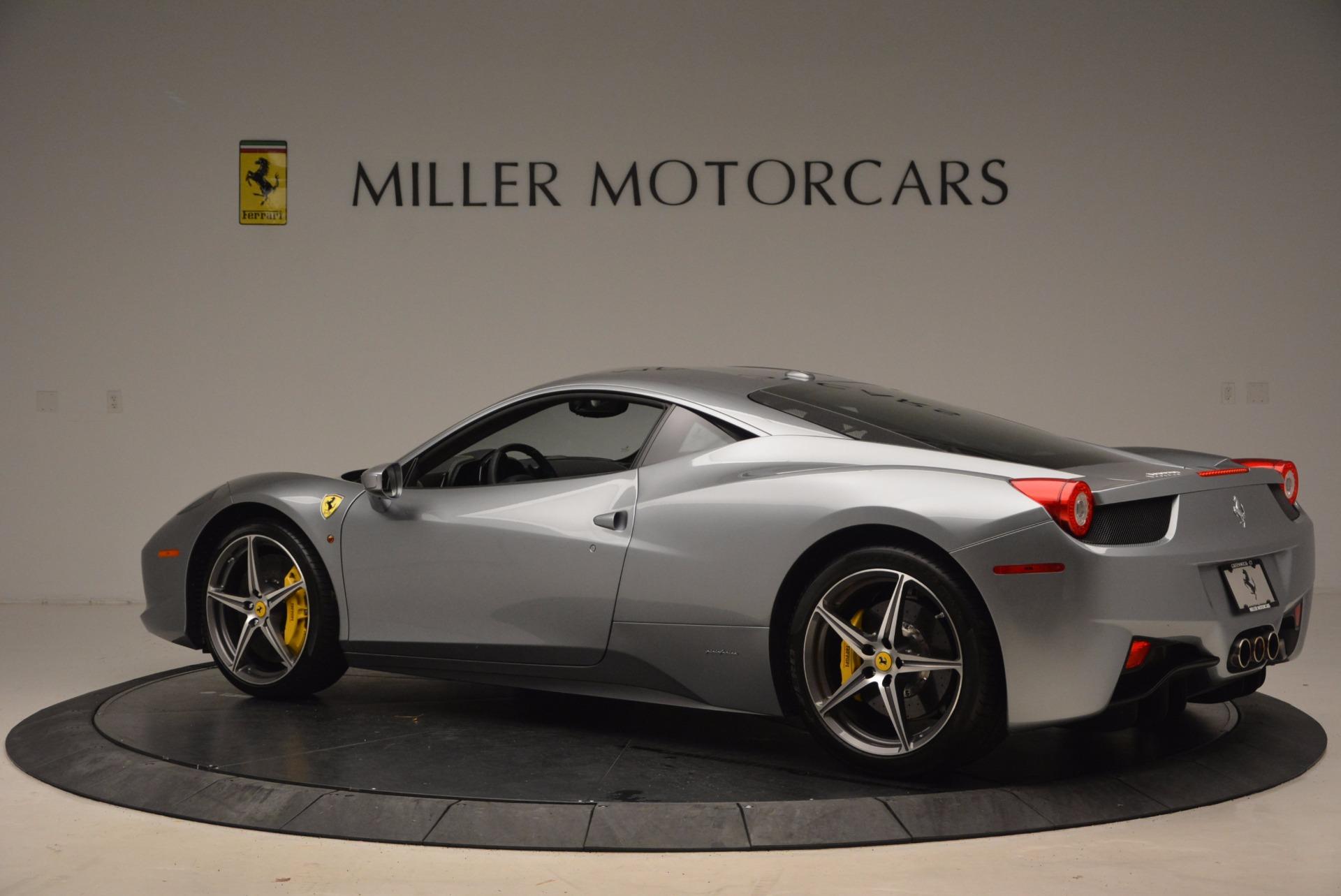 Used 2014 Ferrari 458 Italia  For Sale In Westport, CT 1669_p4