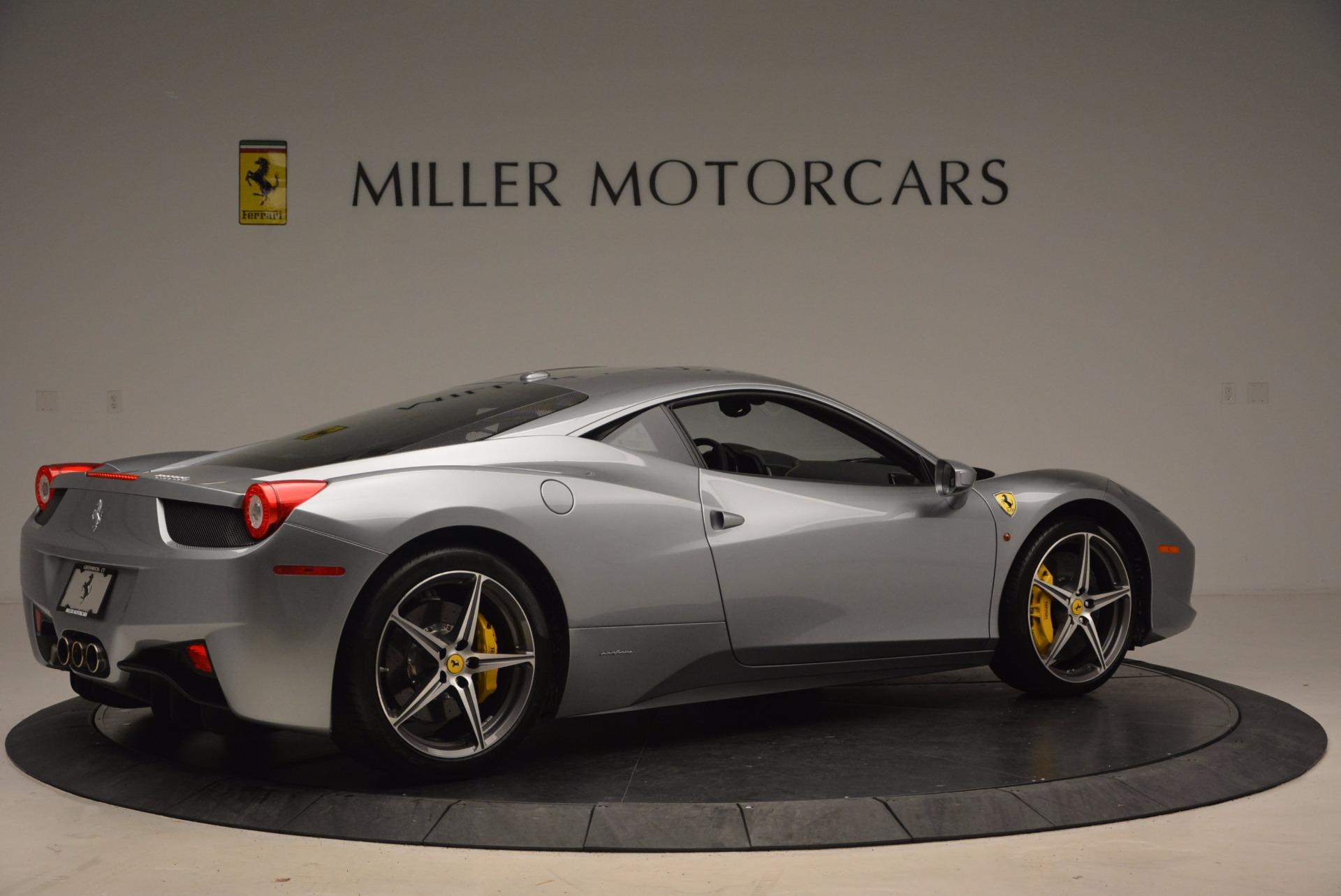Used 2014 Ferrari 458 Italia  For Sale In Westport, CT 1669_p8