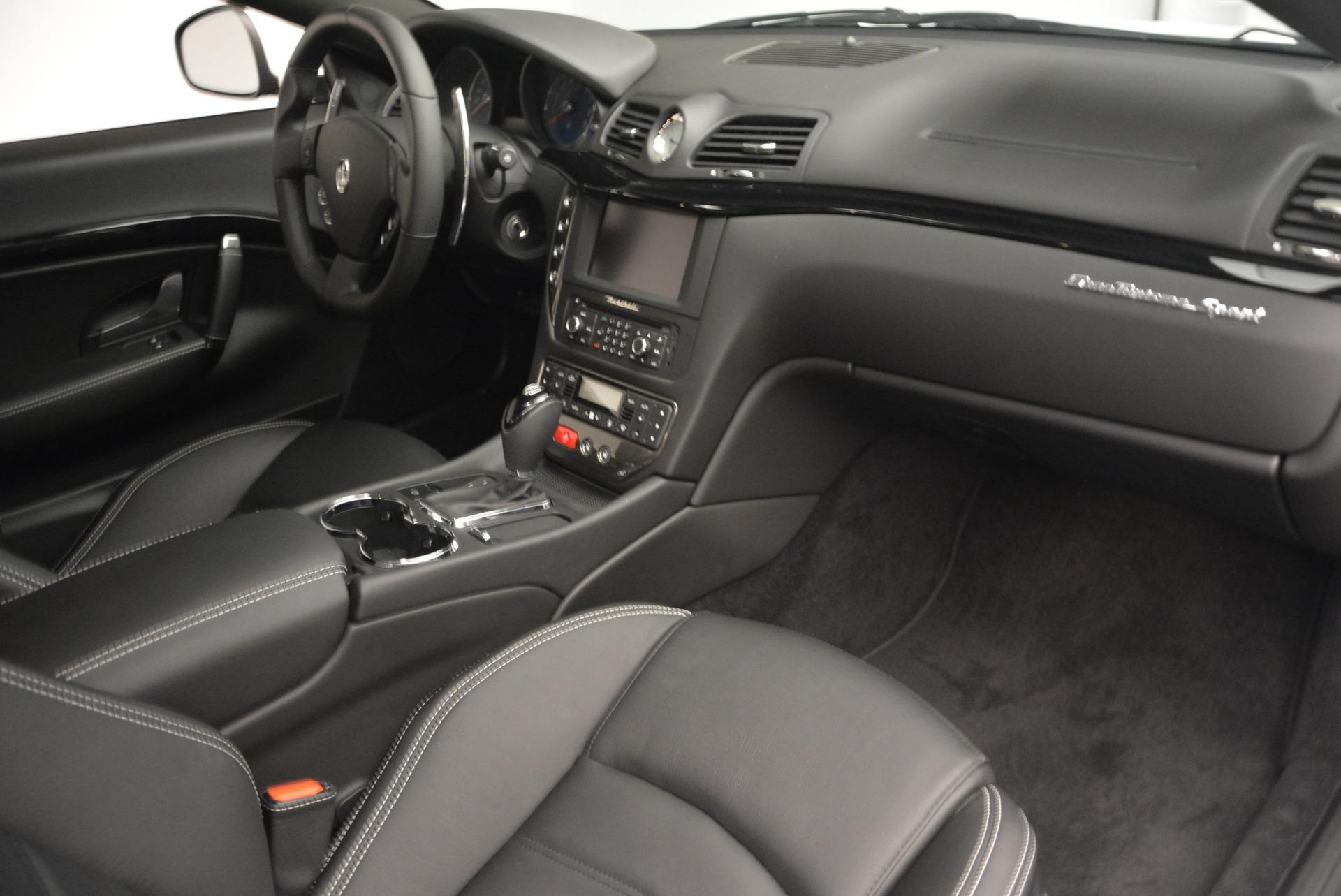 New 2016 Maserati GranTurismo Sport For Sale In Westport, CT 167_p13
