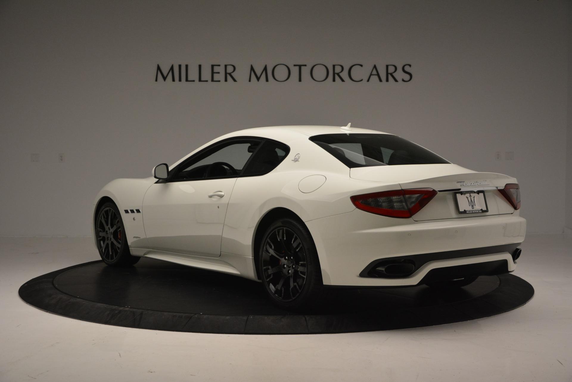 New 2016 Maserati GranTurismo Sport For Sale In Westport, CT 167_p4