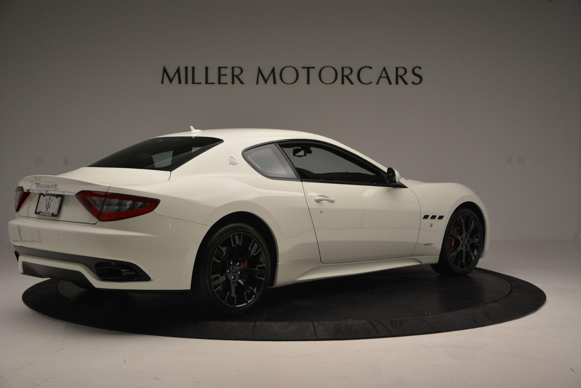New 2016 Maserati GranTurismo Sport For Sale In Westport, CT 167_p6