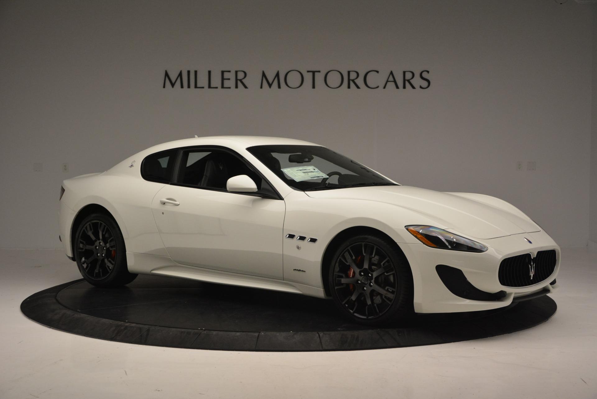 New 2016 Maserati GranTurismo Sport For Sale In Westport, CT 167_p8