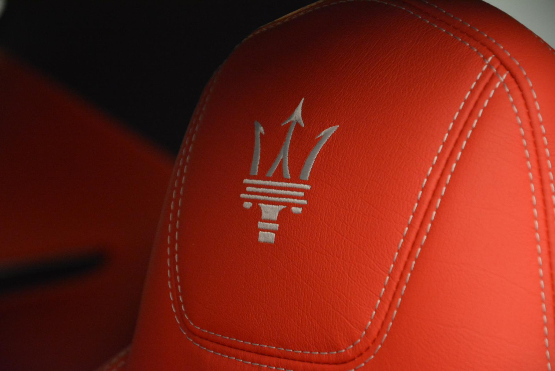 New 2017 Maserati GranTurismo Sport For Sale In Westport, CT 168_p16
