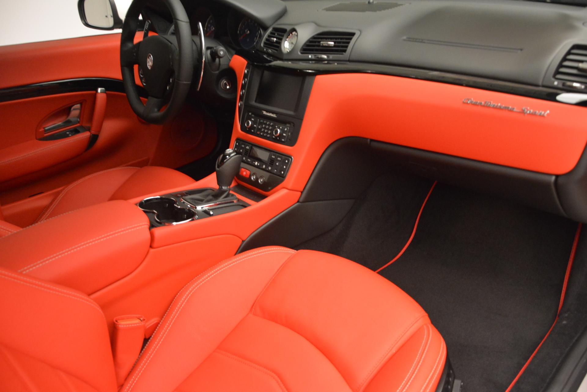 New 2017 Maserati GranTurismo Sport For Sale In Westport, CT 168_p19