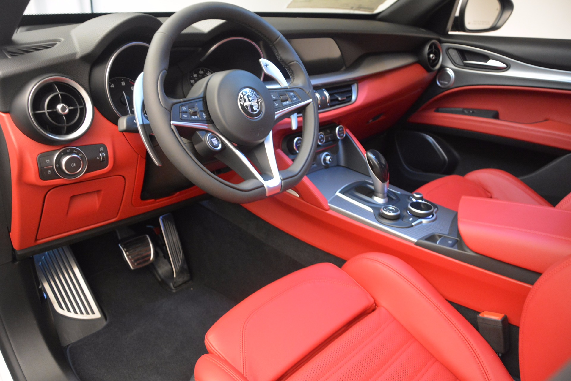 New 2018 Alfa Romeo Stelvio Ti Sport Q4 For Sale In Westport, CT 1684_p13