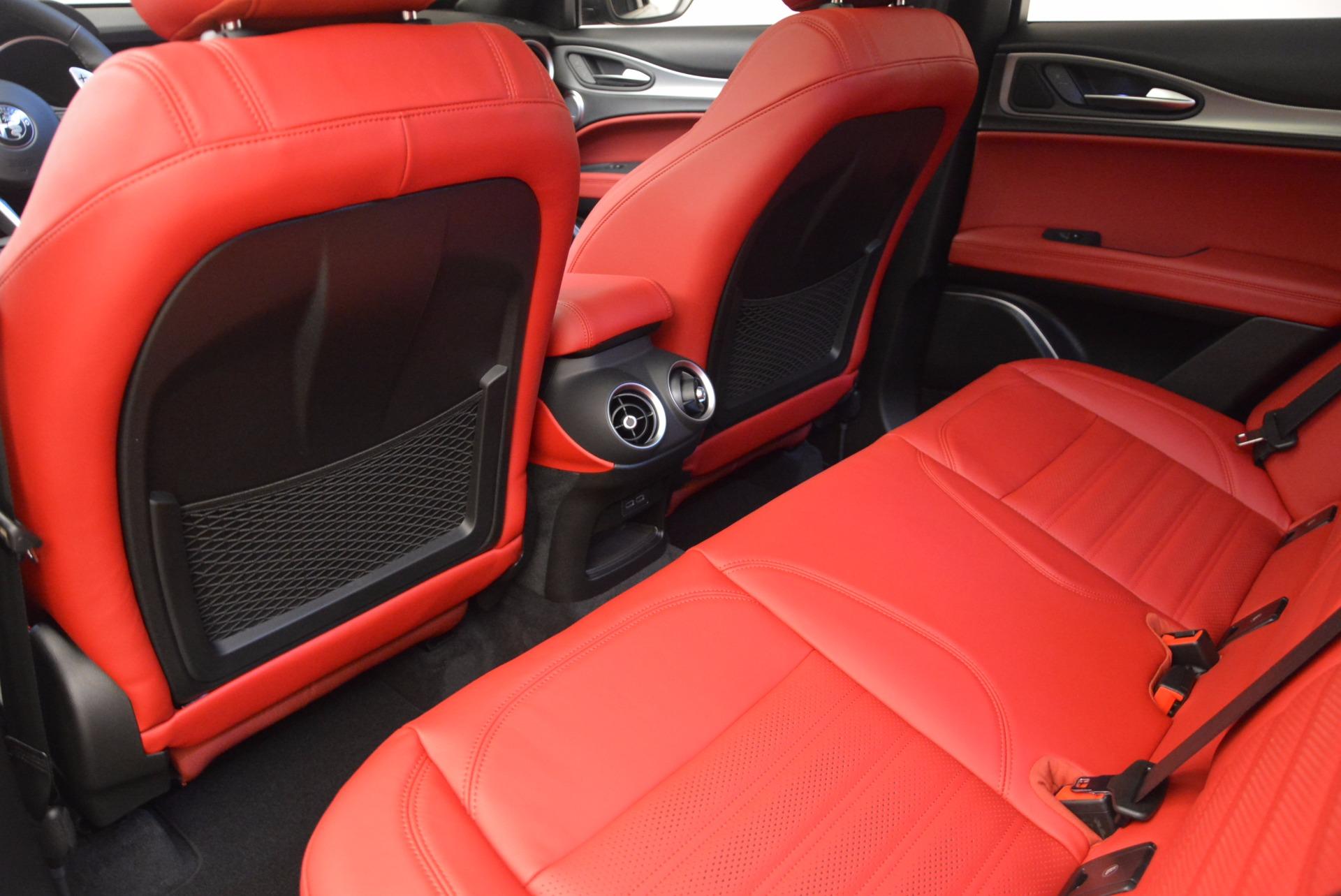 New 2018 Alfa Romeo Stelvio Ti Sport Q4 For Sale In Westport, CT 1684_p16