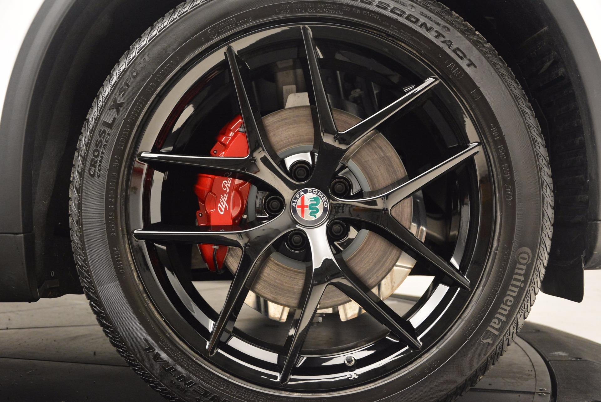 New 2018 Alfa Romeo Stelvio Ti Sport Q4 For Sale In Westport, CT 1684_p25