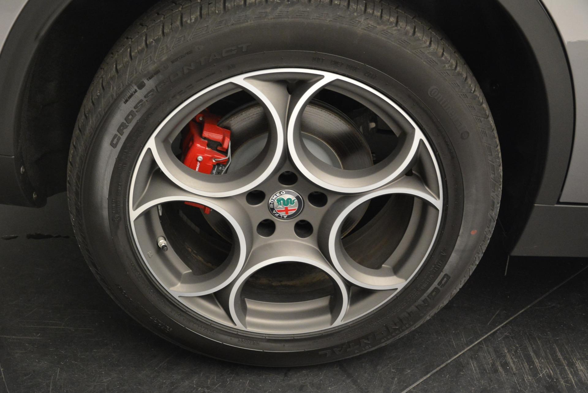 New 2018 Alfa Romeo Stelvio Sport Q4 For Sale In Westport, CT 1686_p25